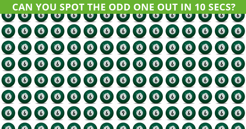 Only 10% Of People Can Achieve 100% In This Tough Odd One Out Visual Test. How About You?