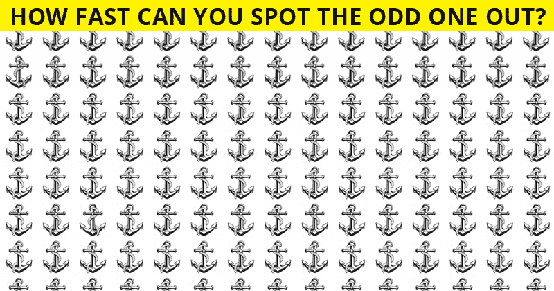 Almost No One Can Ace This Difficult Odd One Out Puzzle. How About You?