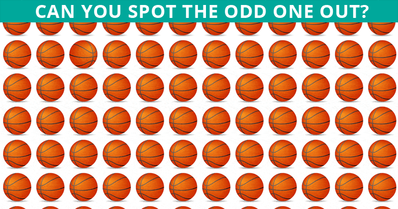 Only 2% Of People Can Beat This Odd One Out Test. Are You Up To The Challenge?