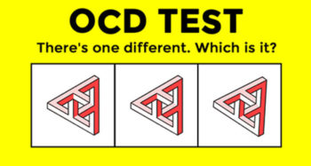 Let's Find Out How Sensitive Is Your OCD Radar Is