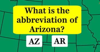 Only Americans With A PhD Know The Abbreviations Of These 26 US States. Do You?