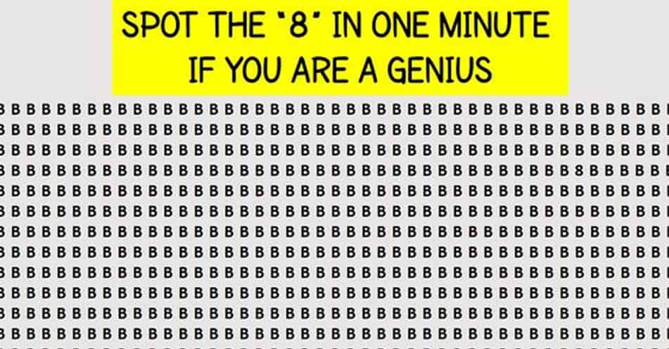 Solve This In One Minute If You Are A Genius!