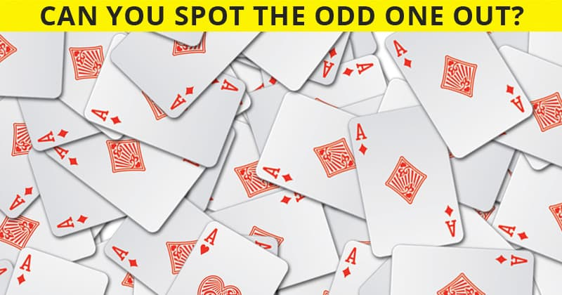 This Odd One Out Visual Game Will Determine Your Visual Perception In About One Minute