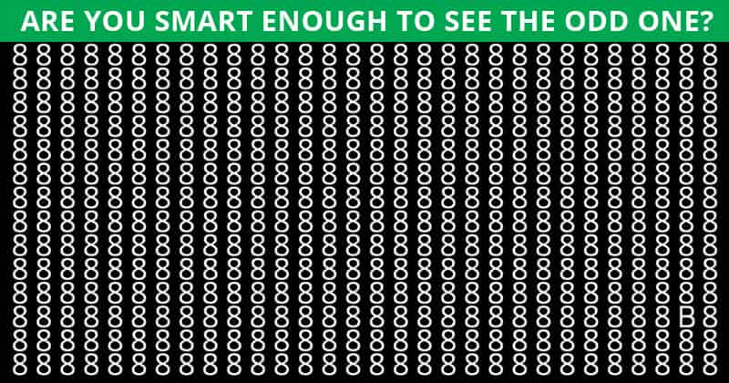 Only People With A Seriously High IQ Will Be Able To Best This Odd One Out Puzzle! Can You?