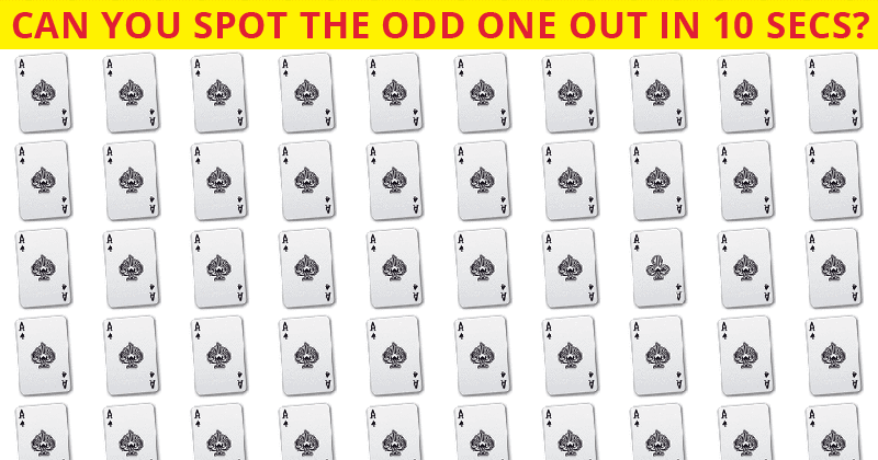 Challenge Time: Nobody Can Solve This Puzzle. Can You Spot The Odd One Out On All Levels In Less Than 10 Seconds?