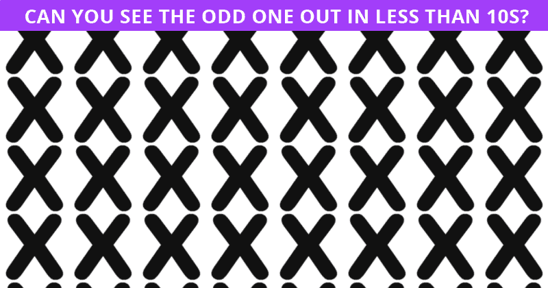 Only 2% Of People Can Beat This Challenging Odd One Out Puzzle. How About You?
