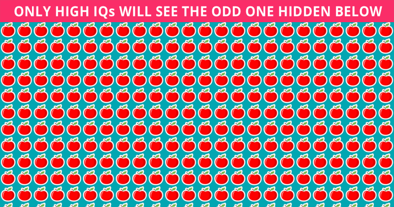 Challenge Time: Nobody Can Solve This. Can You Spot The Odd One Out In Less Than 10 Seconds?