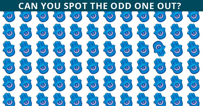 Only People With An IQ Score Of 145-165 Passed This Tricky Odd One Out Test