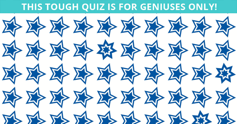 Only 15 People Have Passed This Difficult Odd One Out Quiz So Far! Will You?