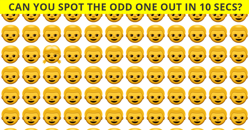 If You Can Pass This Multi-Level Odd One Out Visual Puzzle In 60 Seconds, You Have Incredible Eyesight