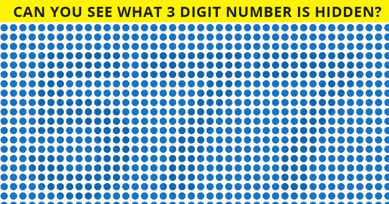 This Unique Number Test Will Determine The Sharpness Of Your Eyesight