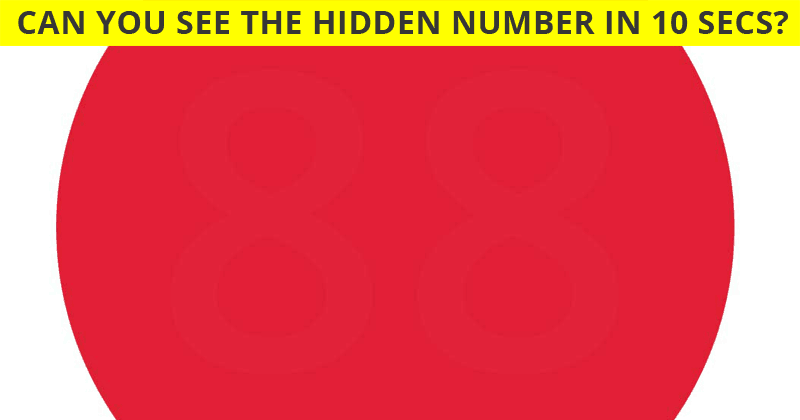 This Red Color Circle Test Will Determine the Sharpness Of Your Eyesight In One Minute