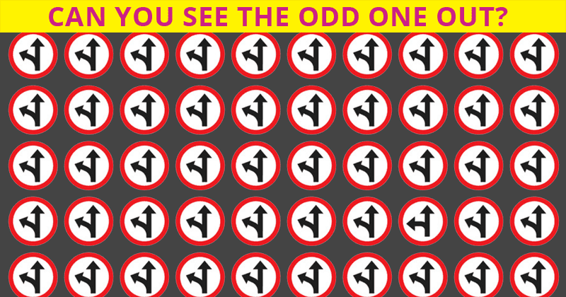 Everyone Is Confused. How Long Does It Take For You To Spot The Different Sign?