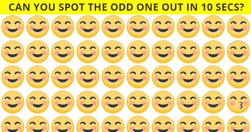 Only 1 In 30 Sharp-Eyed People Can Beat This Challenging Odd One Out Visual Challenge. How About You?