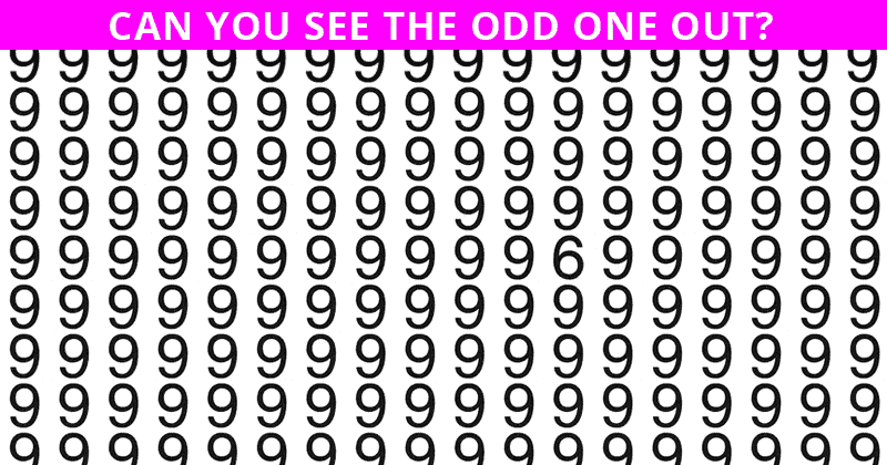 Only People With An Unusually High IQ Will Be Able To Ace This Odd One Out Visual Puzzle! How About You?