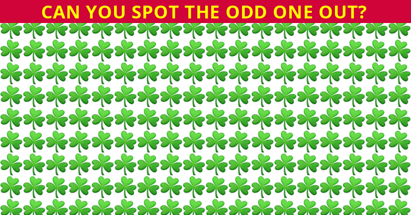 Only 3% Can Beat This Odd One Out Test! Find Out If Your IQ Is High Enough To Pass This Challenge