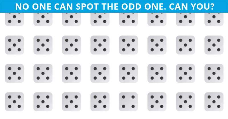 Only People With An Unusually High IQ Will Be Able To Best This Odd One Out Test! How About You?