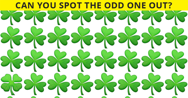 You're Probably A Genius If You Get 100% In This Odd One Out Visual Puzzle!