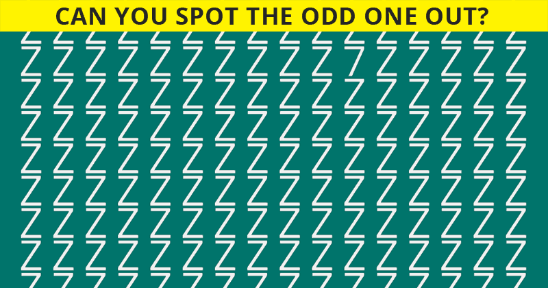 How Quickly Can You Spot The Odd Number? Not Many Can Do It In Under 8 Seconds