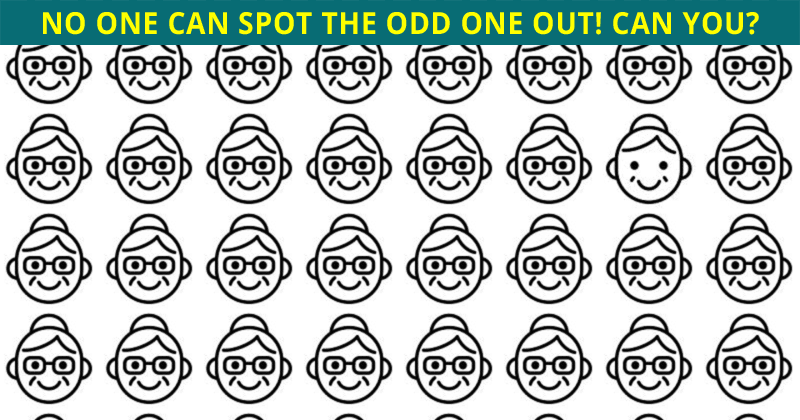 Only 1 In 30 Sharp-Eyed People Can Achieve 100% In This Odd One Out Puzzle. How About You?