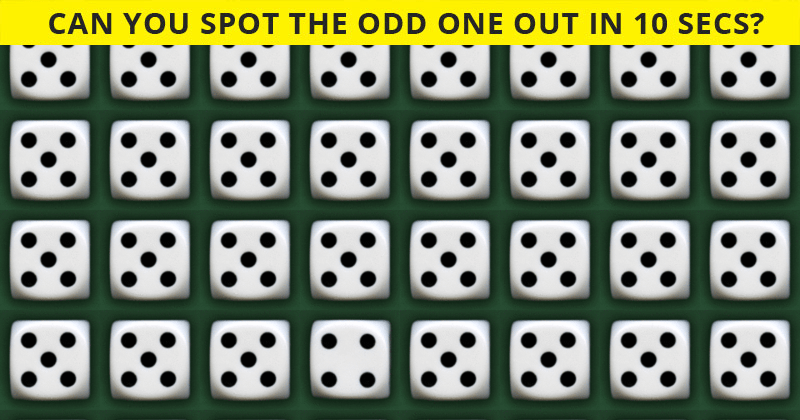 Fun Odd One Out Test To Check Your Focusing Abilities Only 1 Person Out Of 60 Can Do It. How About You?