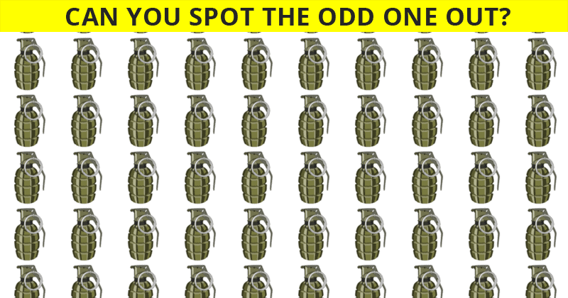 Only 1 In 30 Sharp-Eyed People Can Beat This Odd One Out Visual Game. Are You Up To The Challenge?