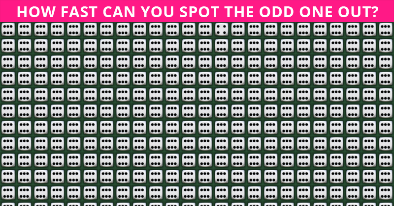 This Odd One Out Visual Game Will Determine Your Visual Perception Abilities In About One Minute