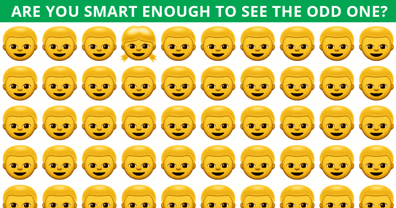 Only People With A High IQ Will Be Able To Best This Odd One Out Puzzle! Can You?