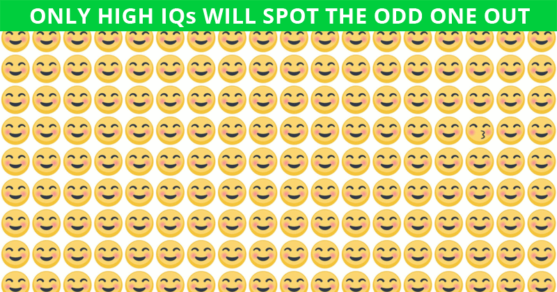 This Odd One Out Visual Test Will Determine Your Visual Perception Talents In About One Minute