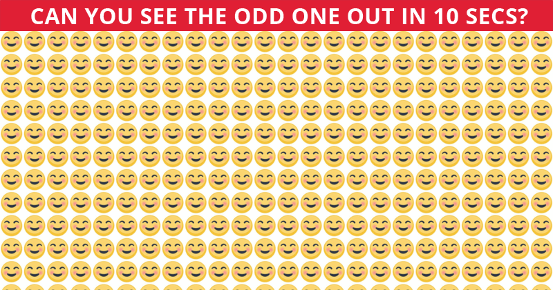 Only 10% Of People Can Beat This Odd One Out Test. Are You Up To The Challenge?