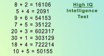 If You Can Solve These Equations You Have The IQ Of A Genius!