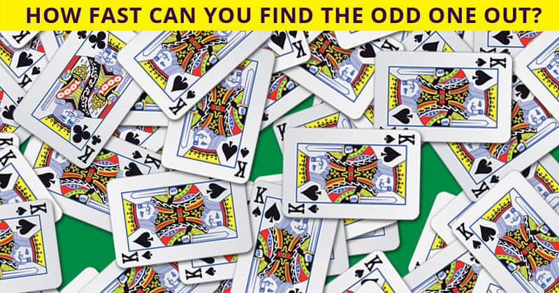 Only 1 In 40 People Can Ace This Challenging Odd One Out Test. How About You?