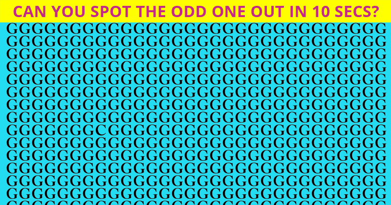 Only 1 In 30 People Can Achieve 100% On This Tough Visual Challenge!
