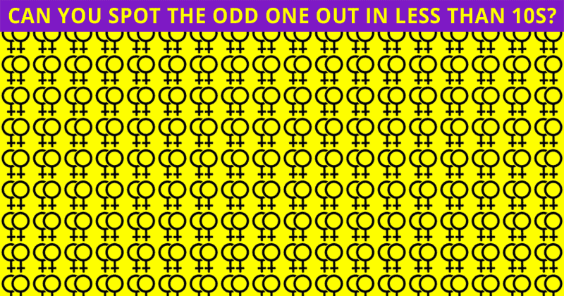 Almost No One Can Ace This Tough Odd One Out Visual Challenge. How About You?