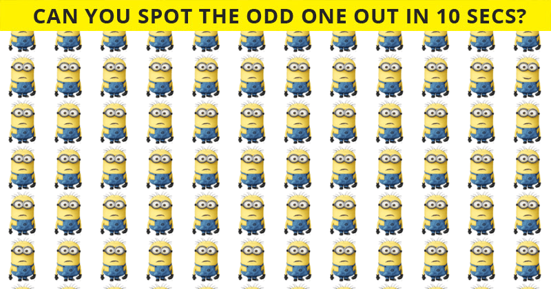 Very Few People Can Complete This Odd One Out Visual Challenge. Can You?