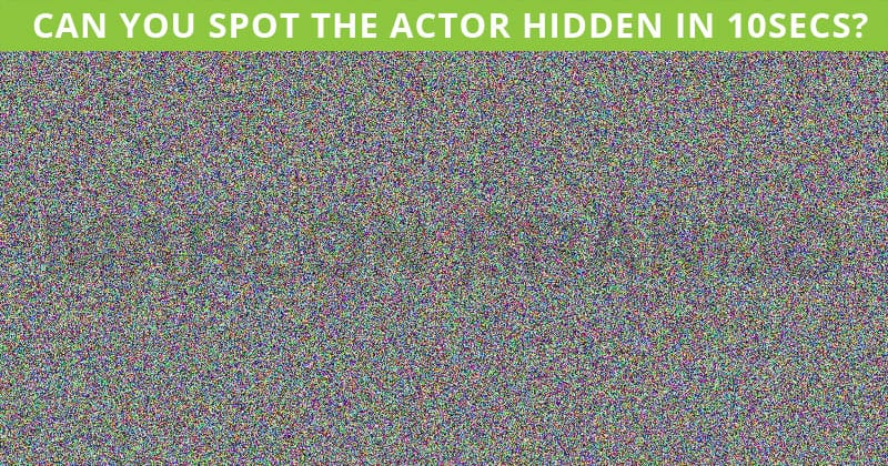 How Quickly Can You Find The Hidden Actor In This Difficult Visual Challenge?