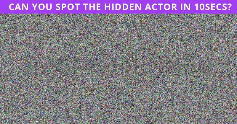 Only 1 In 30 People Can Achieve 100% In This Tough Hidden Actor Test. How About You?