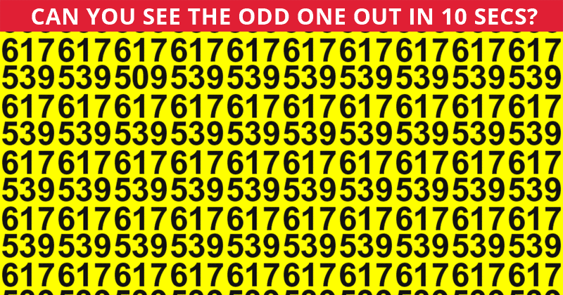 Only 2% Of People Can Ace This Tough Odd One Out Visual Test. How About You?
