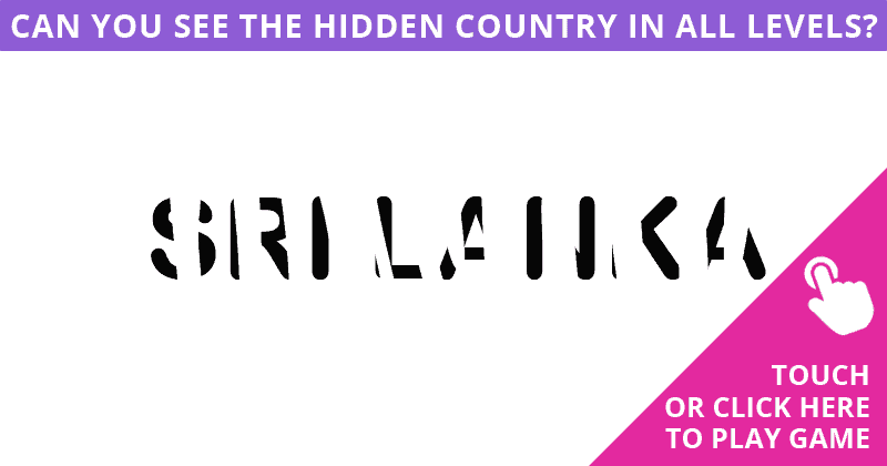 Almost No One Can Achieve 100% In This Hidden Country Puzzle. Are You Up To The Task?