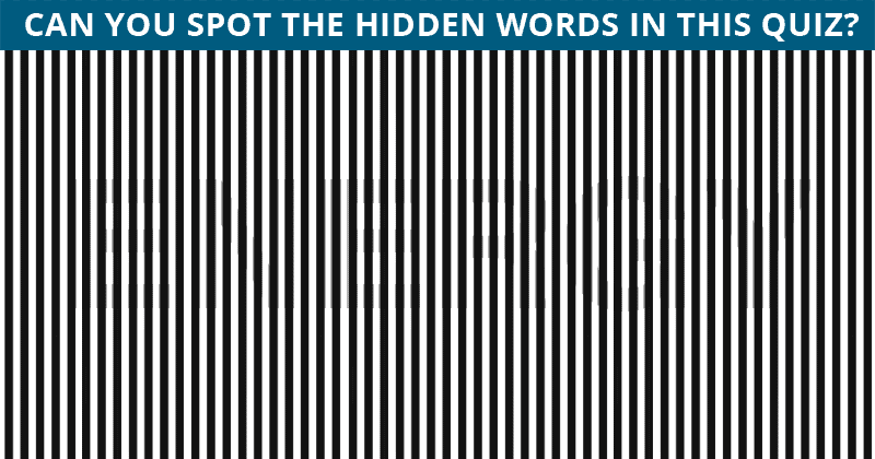 Almost No One Can Beat This Hidden Word Visual Challenge. Are You Up To The Challenge?