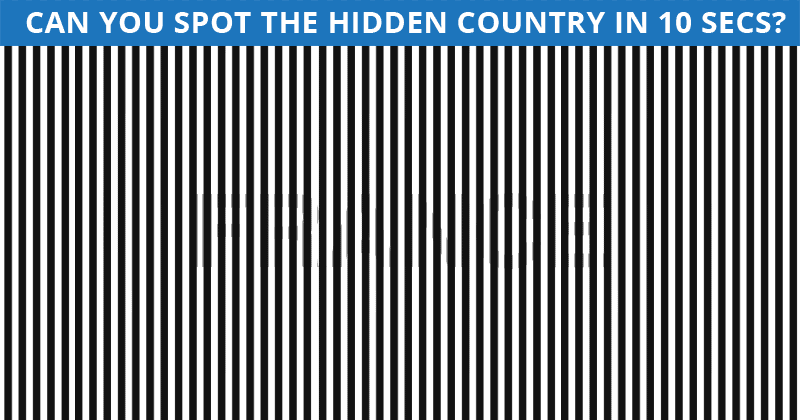 Nobody Can Solve This Crazy Tough Test. Can You Spot The Hidden Country On All Levels In Less Than 10 Seconds?