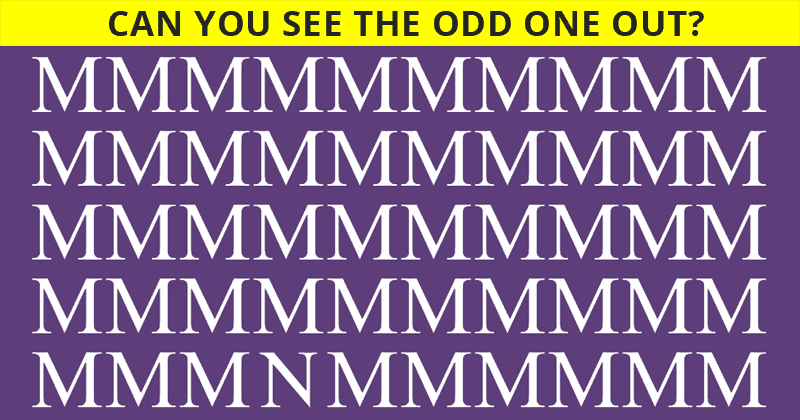 Try Finding The Different One To See If You're Intelligent And Visually Gifted!