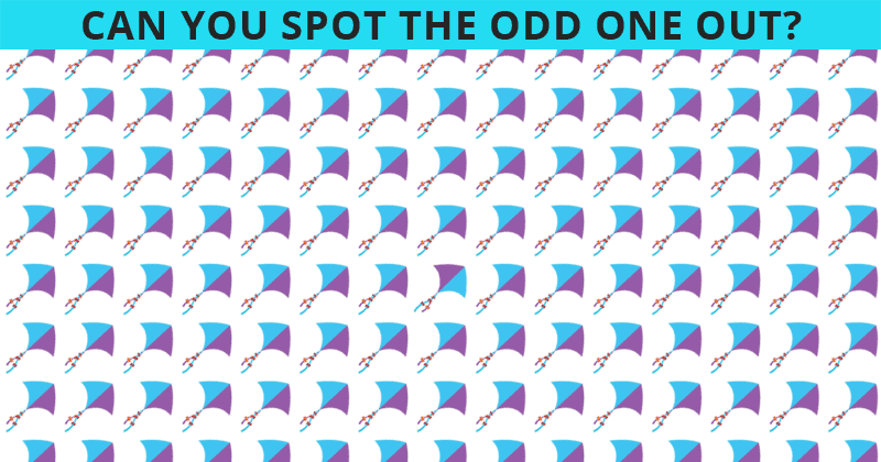 Challenge Time: This Puzzle Is Driving The Internet Insane. Can You Spot The Odd One Out On All Levels In Less Than 10 Seconds?