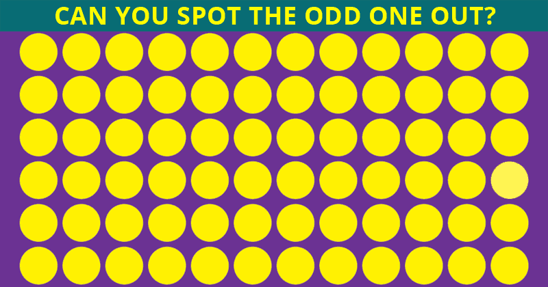 This Visual Color Test Will Determine the Sharpness of Your Eyesight In One Minute