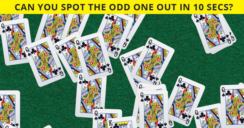 Only 1 In 30 Sharp-Eyed People Can Spot The Different Card! Can You?