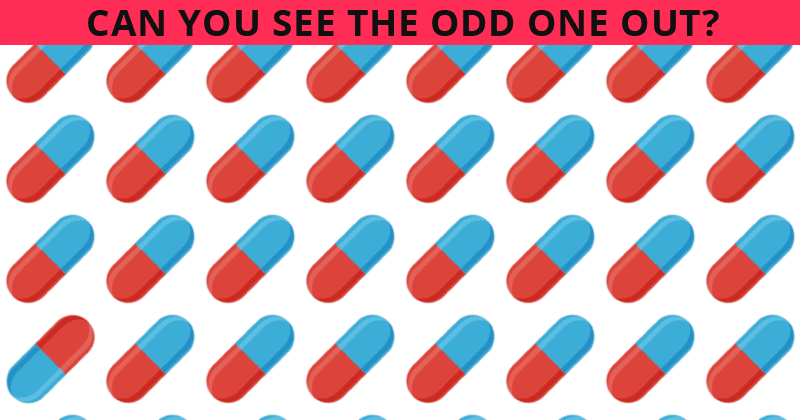 Only 11% Of People Can Beat This Difficult Odd One Out Visual Test. How About You?