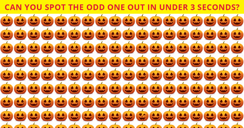 This Odd One Out Visual Quiz Will Determine Your Visual Perception Talents In Less Than One Minute