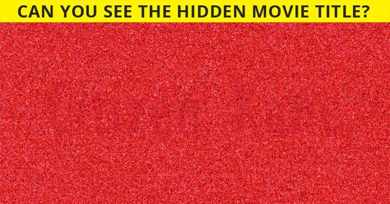 Challenge Time: Can You See The Hidden Movies In These Images?