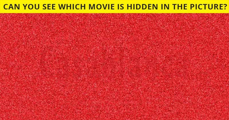 Can You See What Movie Is Hidden In The Image?