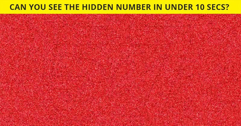 Only 3% Of People Can See All 10 Hidden Numbers! How About You?